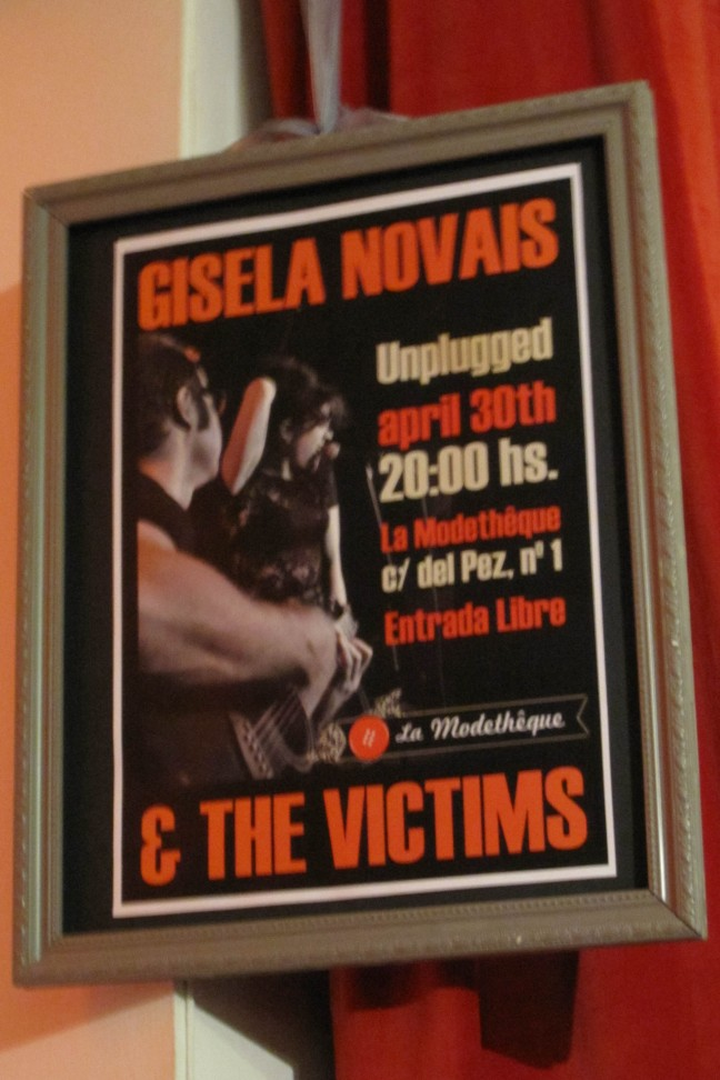 Gisela Novais & The Victims La Modethêque Madrid