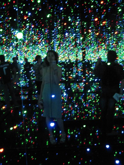 Yayoi Kusama exhibition Madrid