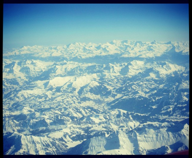 Swiss and French Alps