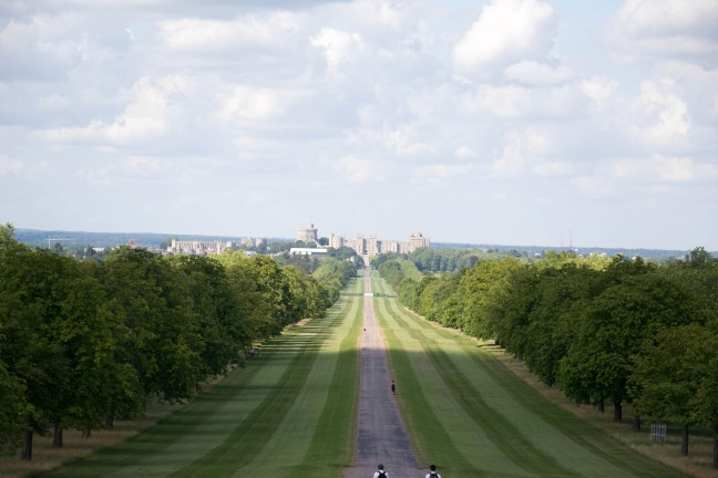 Windsor Great Park Long Walk Castle