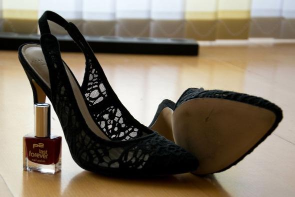 DIY Zara Heels