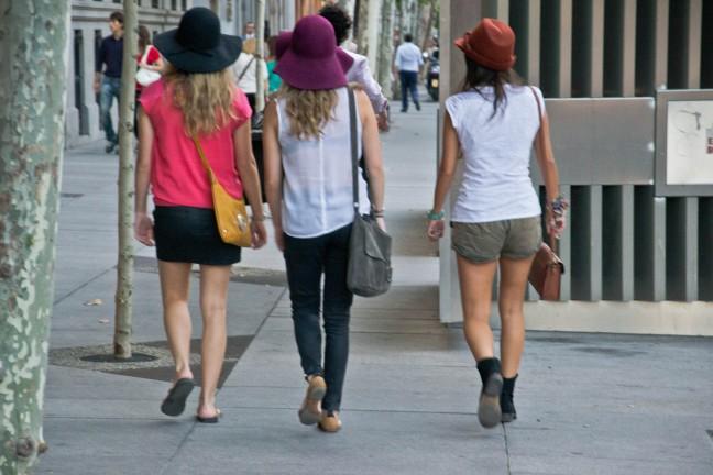 Street Style Serrano moda callejera