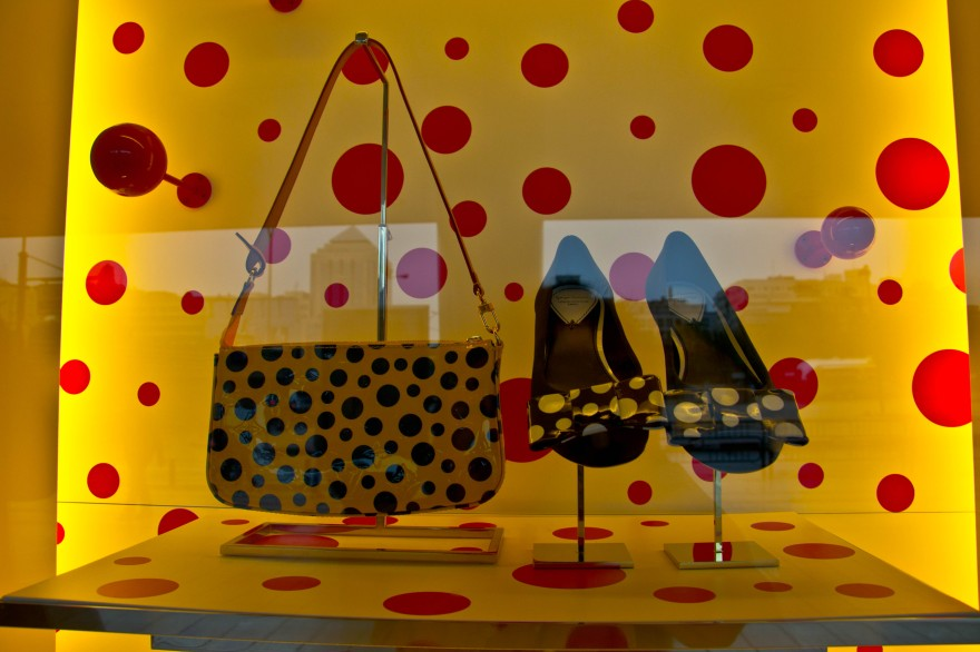 Yayoi Kusama for Louis Vuitton Madrid