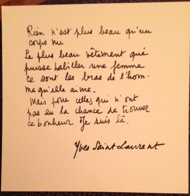 YSL quotes