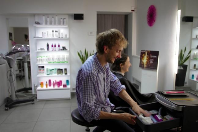 Bob haircut Kruczek Hair concept Krakow