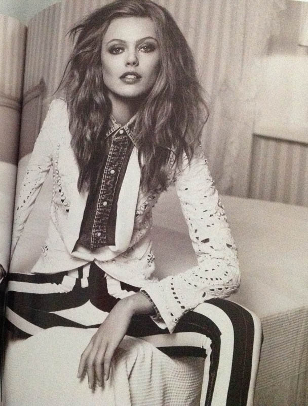 Black White and Denim Vogue Nederland