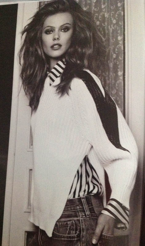 Black White and Denim Vogue Nederland