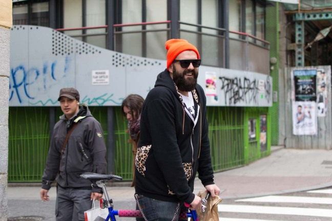 Street Style Madrid Chueca Bikes