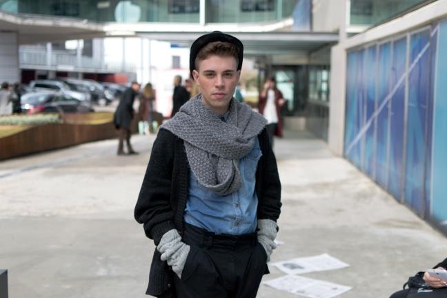 streetstyle madrid fashion week javi