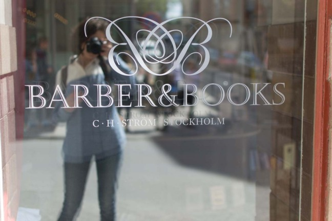 Stockholm Barber and Books