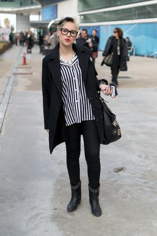Black_White Street Style Madrid