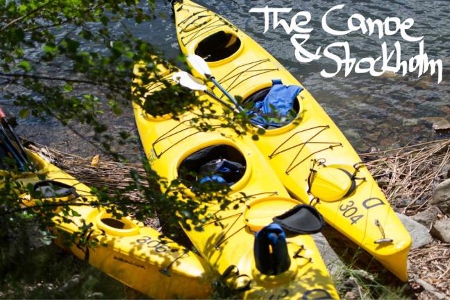 Canoeing Stockholm
