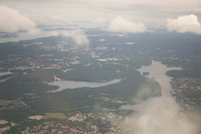 Stockholm from the Sky Archipelago