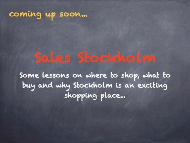 Sales Stockholm Sweden