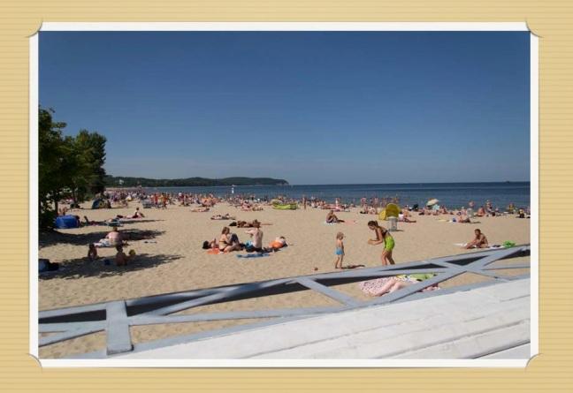 sopot beach gdansk molo