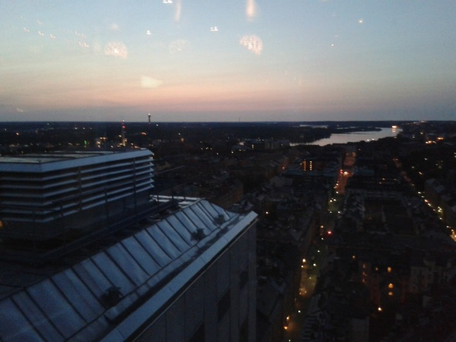 sunrise stockholm himeln södermalm
