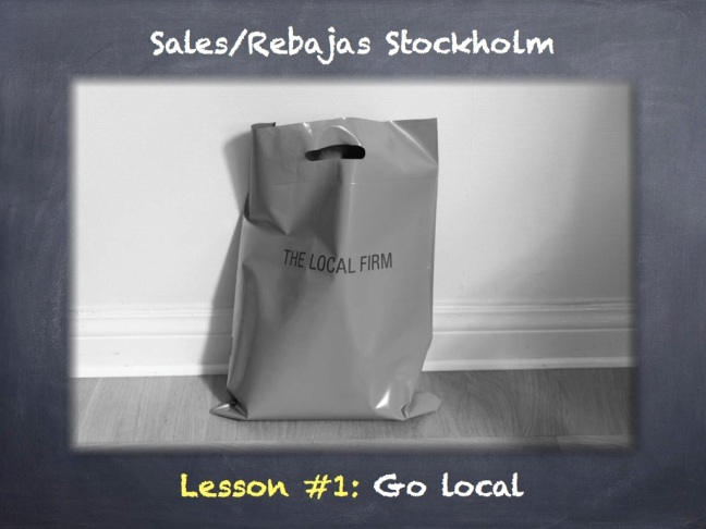 sales shopping stockholm