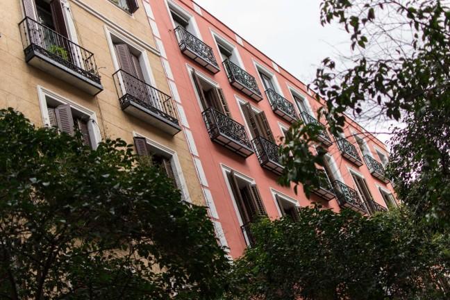 Madrid Calle del Pez Balcony