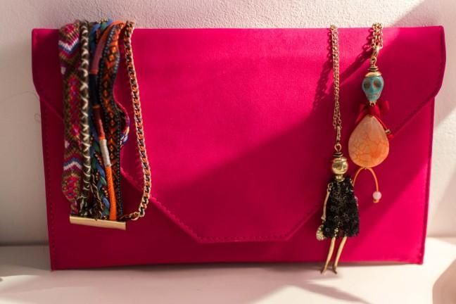 Pink Vintage Handbag Madrid