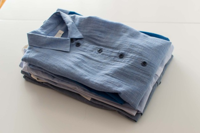 Casual Style Shirts Blue