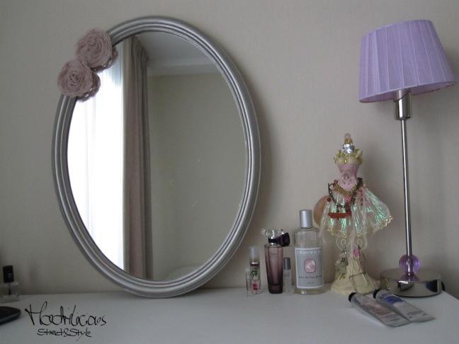 Vanity Vintage Mirror