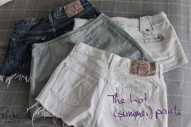 hot pants Levi's 501 cut outs